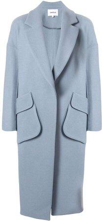 longline cocoon coat