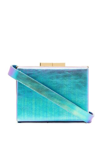 Marzook Capsule Iridescent Belt Bag MFW1809 Blue   Farfetch