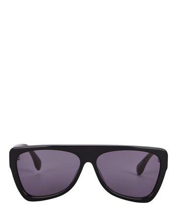 Le Specs Luxe Persona D-Frame Sunglasses | INTERMIX®