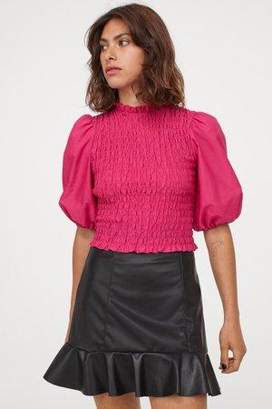Flounced Skirt - Black - Ladies | H&M US