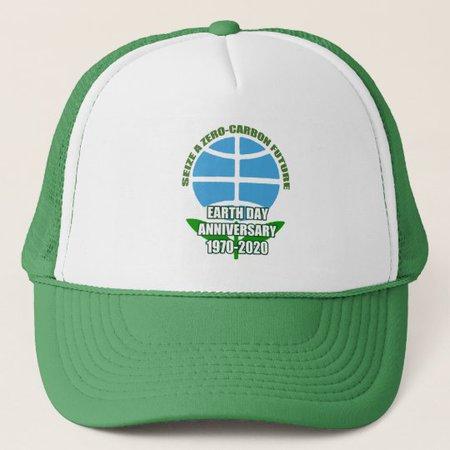 In Bloom Earth Day Trucker Hat | Zazzle.com