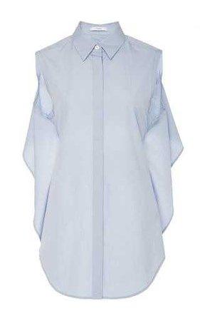 Tome Cotton Poplin Tie Back Shirt