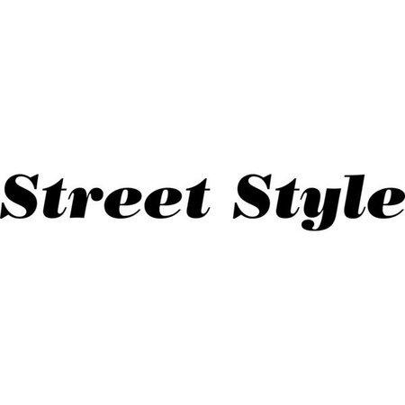 street style words - Google Search