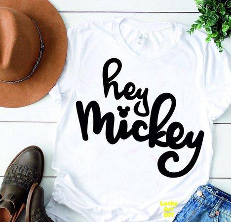 Hey Mickey svg Disney Svg Mickey Mouse Svg Oh You're so | Etsy
