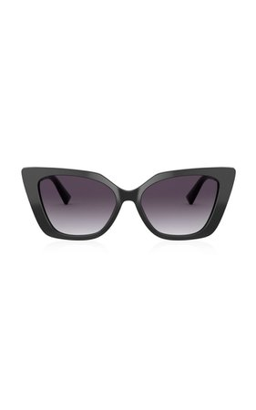 Valentino Garavani Cat-Eye Acetate Sunglasses By Valentino | Moda Operandi