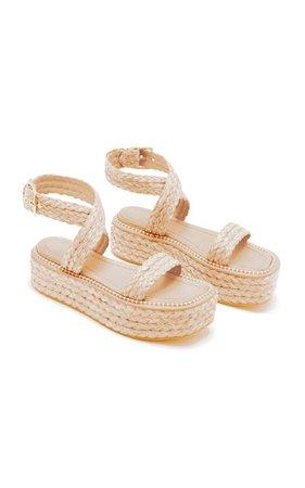 Gemma Platform Sandals By Ulla Johnson | Moda Operandi