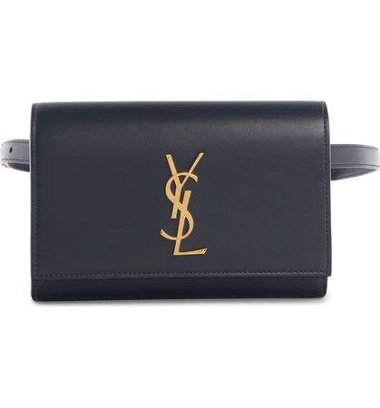 Saint Laurent Kate Leather Belt Bag | Nordstrom