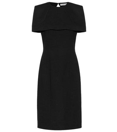 Givenchy - Wool-crêpe dress | Mytheresa