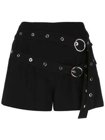 Cinq A Sept Jessi Belted Shorts - Farfetch