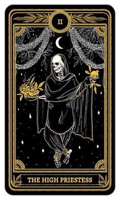 the high priestess tarot card witch