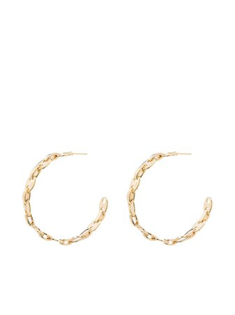 Paco Rabanne  Hoop Earrings - Farfetch