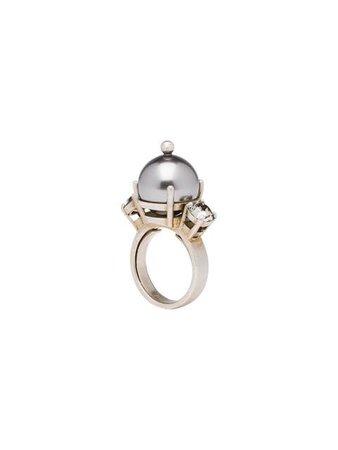Miu Miu Faux Pearl Ring
