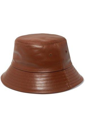 Burberry | Leather bucket hat | NET-A-PORTER.COM
