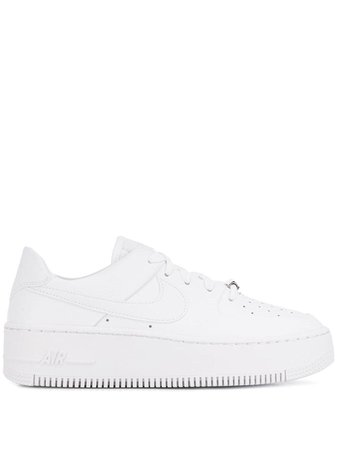 White Nike Air Force 1 Sneakers | Farfetch.com