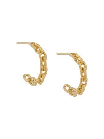 Wouters & Hendrix hoop chain earrings - FARFETCH
