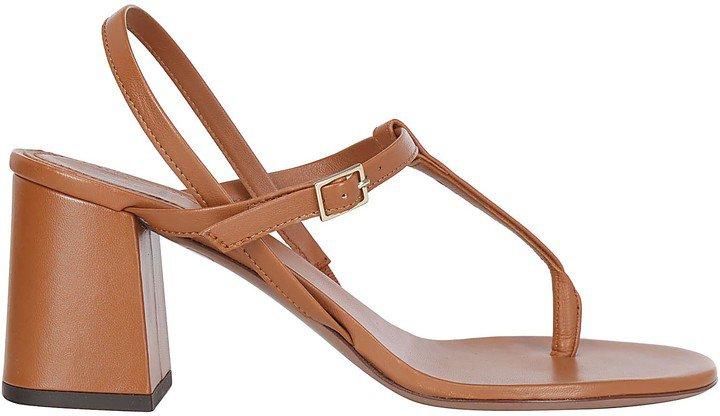 Thong Block Heel Sandals