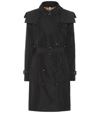 Hooded Trench Coat - Burberry |