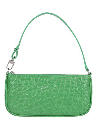Emerald Green Leather Miranda Shoulder Bag