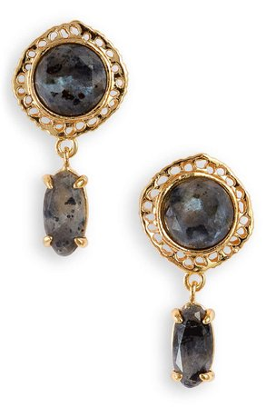 gorjana Gia Stone Drop Earrings | Nordstrom