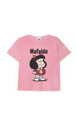 Mafalda T-shirt - Women's Just in   Stradivarius United States