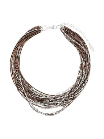 Brunello Cucinelli Beaded multi-strand Necklace - Farfetch