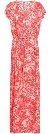 Delilah Printed Voile Maxi Dress