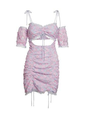 For Love and Lemons - Amalie Mini Dress