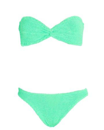 Hunza G Ariel Bandeau Bikini Set | INTERMIX®