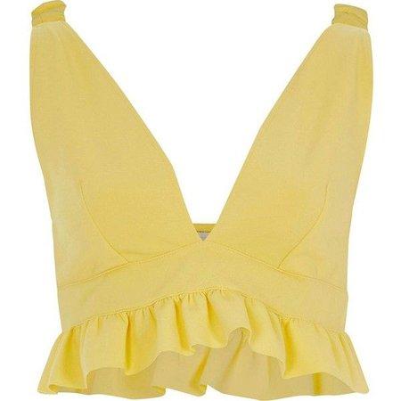 Yellow Bralette