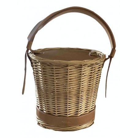 L'osier handbag Polene Beige in Wicker - 11523672