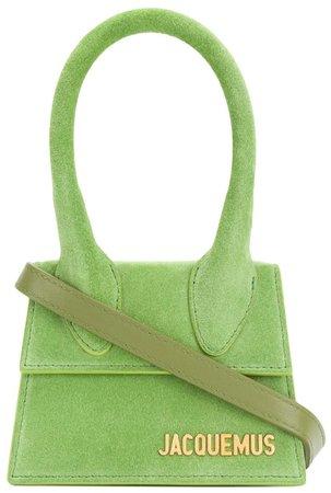JACQUEMUS Green Mini Handbag