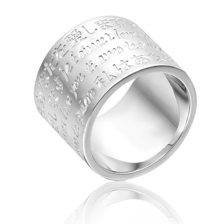 Large ring MULTILOVE - Silver