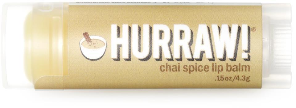HURRAW! Lip Balm Chai Spice | Lyko.se