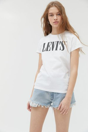 Levi's Perfect '90s Tee   Urban Outfitters