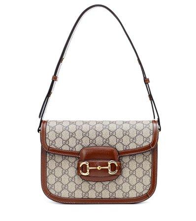 Gucci, 1995 Horsebit Gg Shoulder Bag