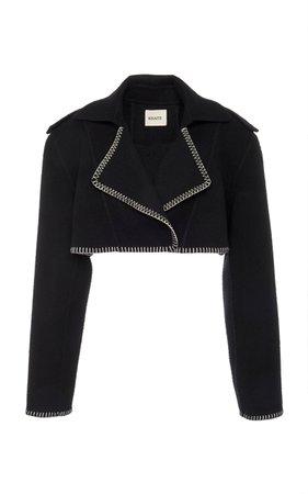 Hudson Cropped Jacket by Khaite | Moda Operandi