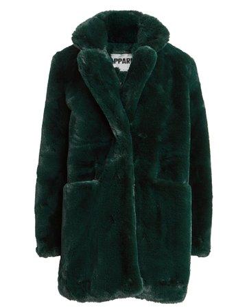 Apparis | Sophie Faux Fur Coat | INTERMIX®