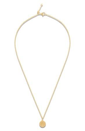 Ellie Vail Paige Mini Coin Pendant Necklace | Nordstrom