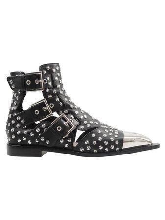 Alexander Mcqueen Studded Boots
