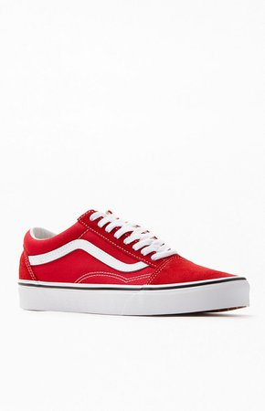 Vans Red Old Skool Shoes at PacSun.com