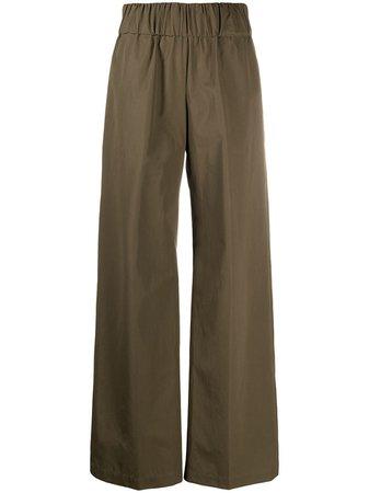Aspesi high-waisted wide leg trousers