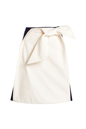 Cotton Bow Skirt Gr. FR 36