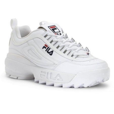 FILA - Fila FW01655-111 : Men's Disruptor II Sneaker White - Walmart.com - Walmart.com