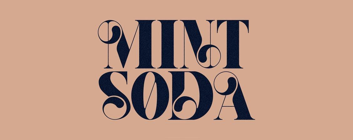 Mint Soda Font on Behance