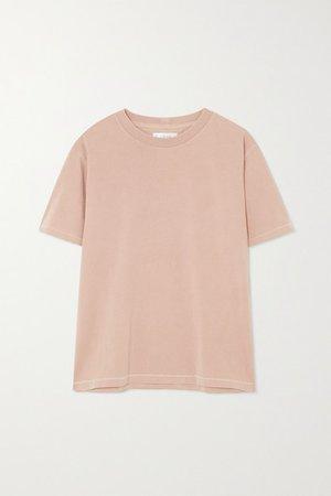 Anine Bing | Hudson cotton-jersey T-shirt | NET-A-PORTER.COM