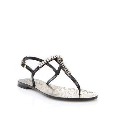 CORINNA SAIAS Black Melina Sandals