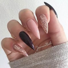 Pinterest - Beautiful nail art design to try this season - long coffin nails , autumn nails ,nail colors, fall nails , nail polis,acrylic nail art | Nails
