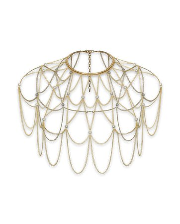 Alexander McQueen Crossbody Chain Harness - Google Search
