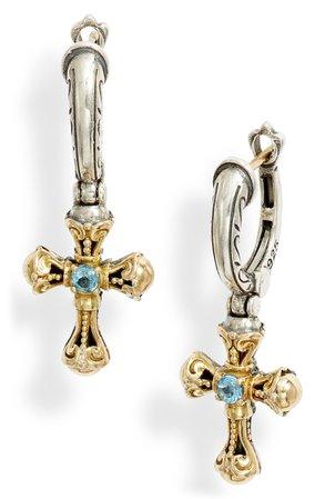 Konstantino Kleos Cross Drop Earrings | Nordstrom