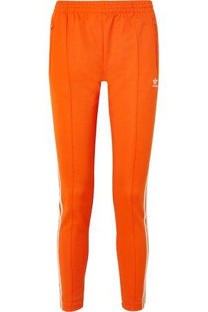 adidas Originals | Striped stretch-jersey track pants | NET-A-PORTER.COM